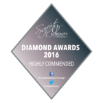 Highly Commended Diamond Award 2016 badge