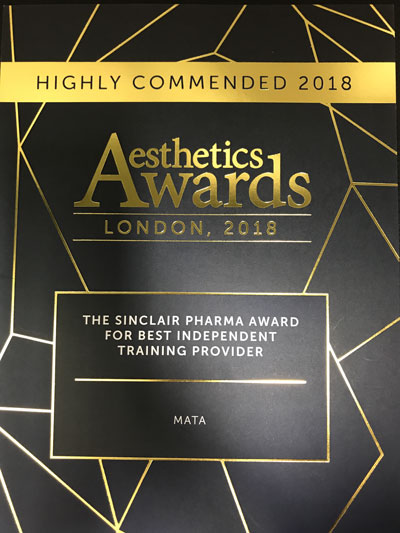 Highly Commended 2018
