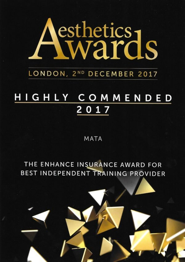 MATA Aesthetics Awards 2017