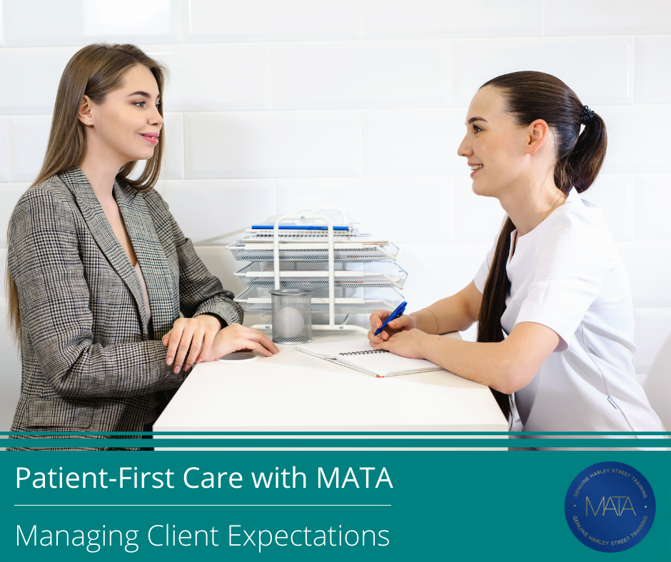guide to managing client expectations in aesthetics