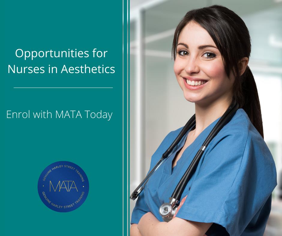 opportunities for nurses in aesthetics