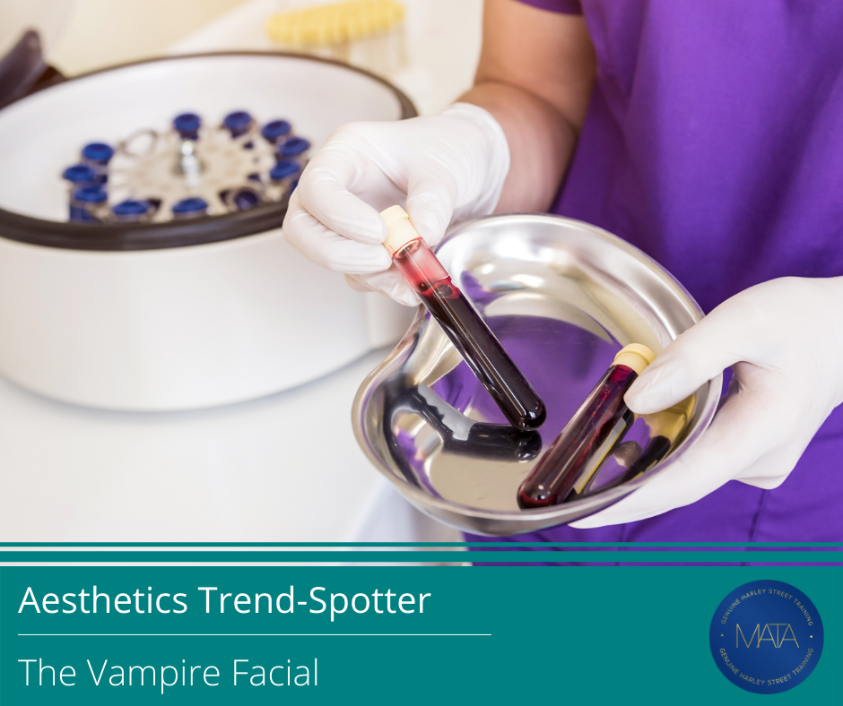 Information about the vampire facial